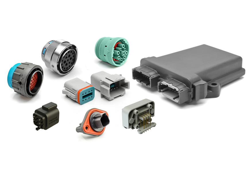 A Series - Sealed Heavy Duty, Multi-Pin Plastic and Metal Connectors