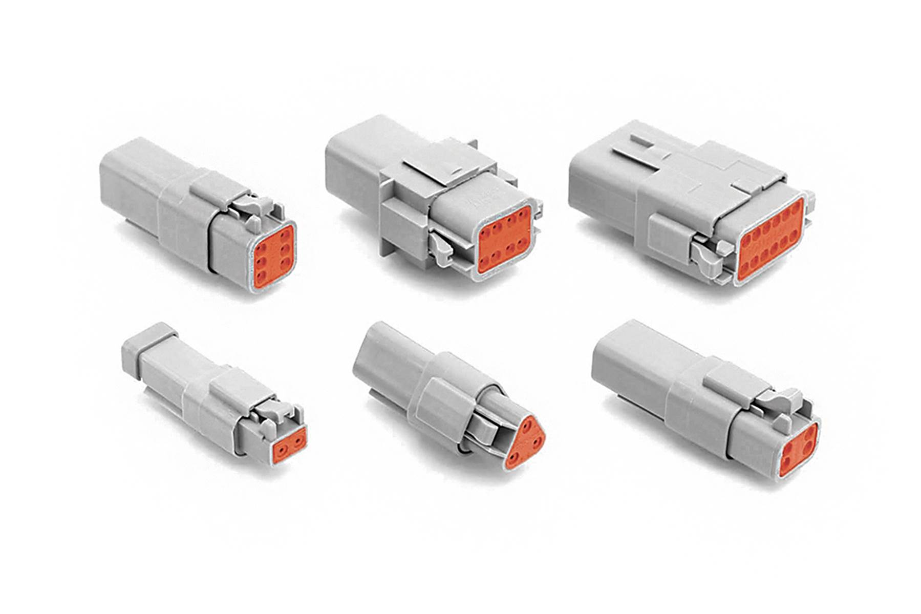 AT Series - 2-12 Pole Connectors