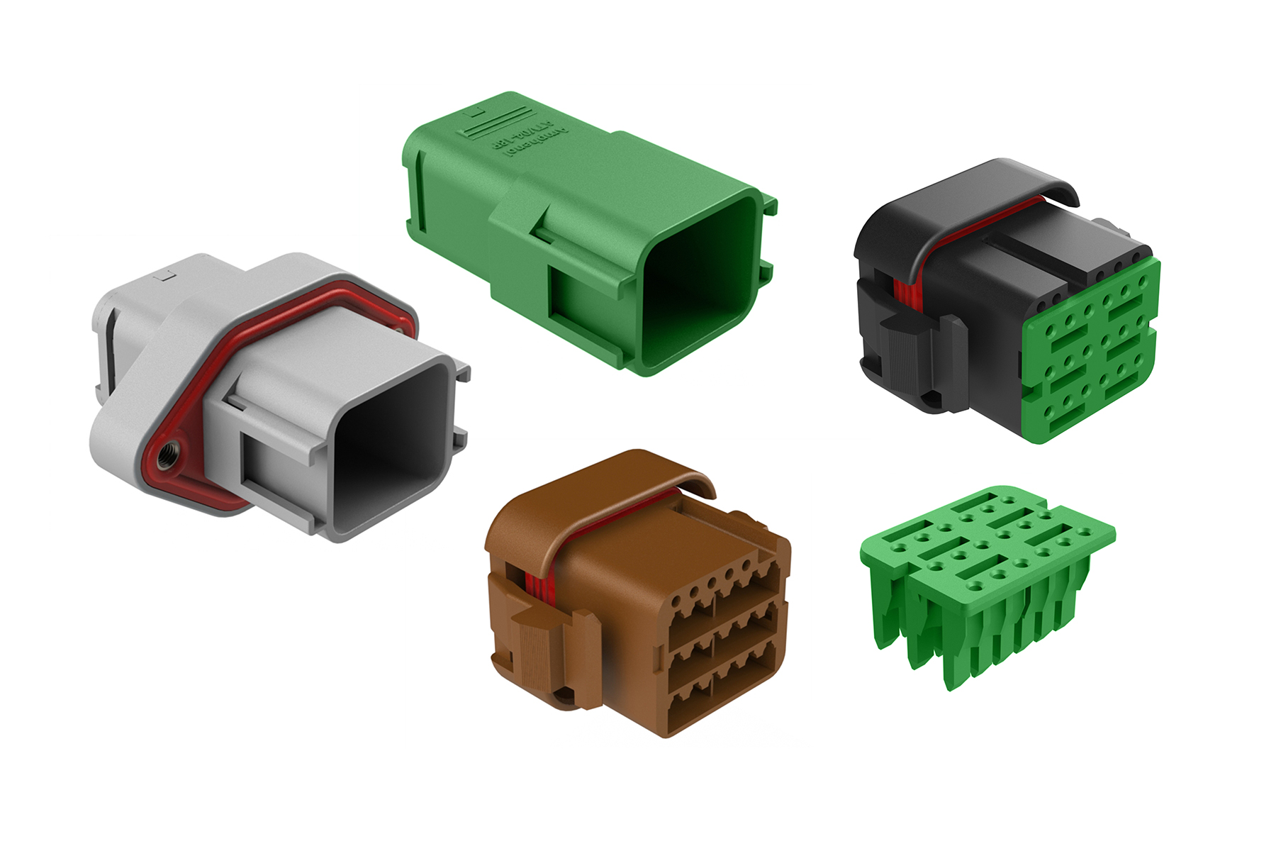 ATV Series - Rectangular Connectors