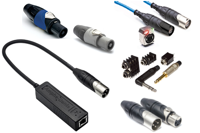 AUDIO - Entertainment connectors for Audio and Lighting applications