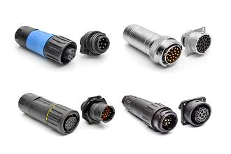 ECO-Mate Series Cable Mount Receptacle Crimp Socket Circular Connector Bayonet 12 Contacts