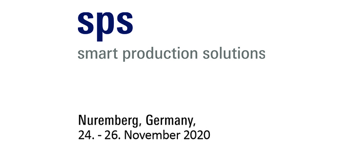 Visit us at SPS smart production solutions 2020