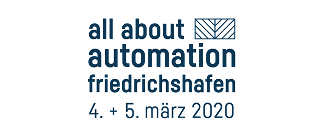 Visit us at the all about automation 2020