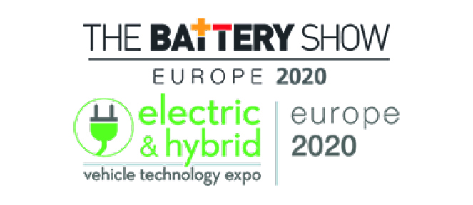 Visit us at  Electric & Hybrid vehicle technology Expo / Battery Show 2020